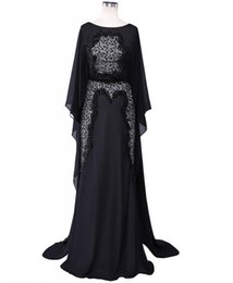 Wholesale Real Saab Dress - Real Couture Elie Saab Evening Dresses 2017 Black Lace Beading Long Evening Dresses Dubai Arabic Formal Gowns Women Prom Gowns Custom Made