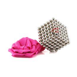 Wholesale Magnet Neo - Tiny Neocube 3mm 216pcs Buckyballs Magnetic Balls neo cube Rare Earth Neodymium Magnet balls+1 bag+1pcs iron sheet+1pcs gift box