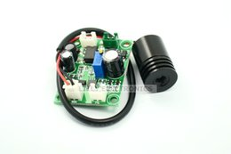 Wholesale Laser Blue Ttl - Industrial 12V 100mw 405nm Blue Violet Light Laser Module w TTL 18x25mm