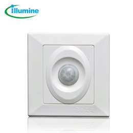 Wholesale Wire Pir Motion Sensor - Wholesale-ILLUMINE R125 PIR Infrared Motion Sensor Switch 3 wires Human Body Induction, load power: 100W, Motion Automatic Module