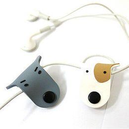 Enrollador de auriculares online-Nuevo Universal Dog Auricular USB Cable Cord Protector Winder Organize Manager Wrap Winder para Auricular Celular
