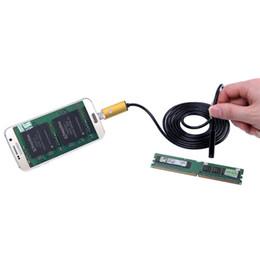 Wholesale Industrial Repairs - 2 in 1 Android Mobile Phone Computer HD 5.5mm 2m 5m 10m Dual-use Industrial Endoscope Pipeline Repair PC Waterproof Camera