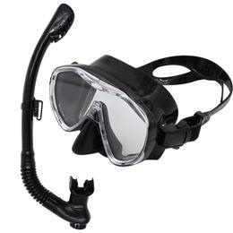 Wholesale Snorkel Tube - Wholesale-Whale Brand Professional Scuba Diving Mask Snorkel Set Manufacturer Quality Guarantee Scuba Diving Tube Diving Mask Swim Gear