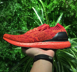 Wholesale Race Photo - Ultraboost Uncaged LTD x Running Shoes for Men and Women Unisex Real photos Ultra Boost Sneakers Red Blue Black Mint Green
