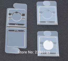 Wholesale Empty Blister Packing - Wholesale- 100pcs lot Empty Plastic Eyeshadow Powder Case, DIY Clear Lip Rouge Subpackage, Small Sample Blister Packing Case for Blush
