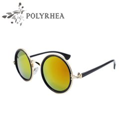 Wholesale Prince Frames - Fashion Luxury Women Sunglasses Retro Metal Casual Brand Designer Sunglasses Color Film Prince Tide Wave Of Metal Mirror With Box And Case
