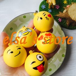 Wholesale Kawaii Squishies Wholesale - squishies wholesale 20pcs rare squishy lot kawaii squishy bread scented expression bun kids toys phone straps charms Free Shipping