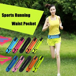 Wholesale Iphone 5s Belt - Universal 4.7 inch Waterproof Sports Running Waist Pocket Pouch Belt Case Bag For iPhone 7 Plus 6 6S 5 5S Samsung S7 edge S6 Note 5 DHL