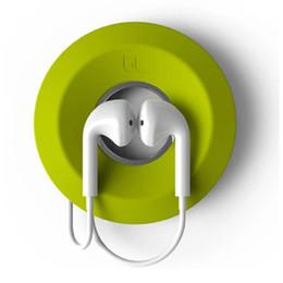 Cabo winder earbud gestão magnética titular fone de ouvido de silicone bonito caixa de cabo donut caso titulares de fone de ouvido por atacado preço barato de