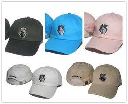 Wholesale Mens Vibrating - New adjustable Cap Baseball Hat For Men Women Casquette Sport Hip Hop Mens Womens Basketball Cap Vibrate sign bones Cheap hat