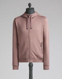 Wholesale Thick Black Cardigan - New fashion style Embroidery Crown Autumn Winter hoodie sweatshirt Men brand clothing male zipper thick fleece sweatshirts