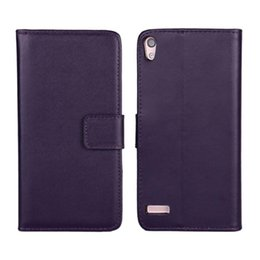 Wholesale Ascend P6 Case - PU Leather Flip Cover For Huawei Ascend P6 Luxury Wallet case card holder holster phone shell stand
