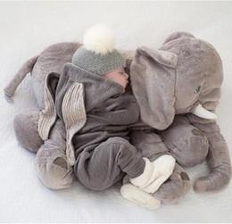 2019 акустические игрушки ежи оптом Новая продаваемая удобная мягкая симпатичная сумка 2017 года, чтобы успокоить сон с игрушечной куклой в виде слона