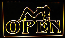 Wholesale Open Pub - LS177-y OPEN Sexy Sex GirLS Pub Bar Club Neon Light Sign.jpg