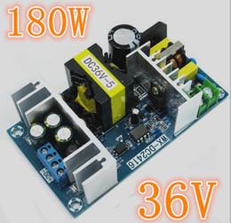 Alimentatore a corrente alternata 36v online-Convertitore CA Driver LED Alimentatore industriale Caricabatterie DC 36V 5A 180 W Trasformatore regolato