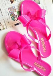 Wholesale Discount Pink Heels - Summer high quality elegant classic luxury brand leisure Super soft cool jelly beach Non-slip women slippers Discount clearance