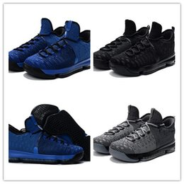 Wholesale Cheap Kd Boots - 2017 Wholesale Basketball Shoes Men KD 9 Durant IX Boots Cheap Sneakers High Quality New KD9 Sports Shoes