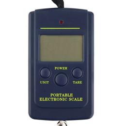 Portable 40kg / 10g Electronic Hanging pesca digitale Pocket peso gancio scala spedizione gratuita da
