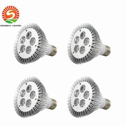 Wholesale Par38 Led 36w - E27 E26 PAR20 PAR30 PAR38 led bulbs light 9W 10W 14W 18W 24W 36W Dimmable AC 85-265V warm cool white led spotights