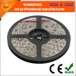 Wholesale Glue Led Strip - low voltage 12v led flexible strips 60leds m SMD5050 Silicon Glue IP65 led strip lights waterproof led tape