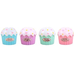 Wholesale Wholesale Candy Bins - Wholesale-Ice Cream Paper Towel tube Cake Towel Box Candy Color Napkin Bins Plastic Paper Towel Box Household Articles
