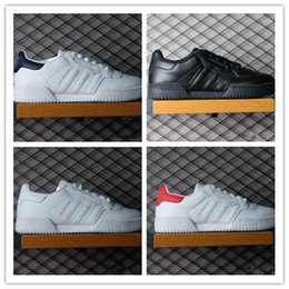 Wholesale Leather Bowl - 2017 Kanye West Calabasas Powerphase Calabasas Men Women Sneakers leather upper with lateral Calabasas Outdoor Shoes