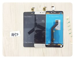 Wholesale Touch Screen Digitizer For X3 - Wholesale- 100% Tested Black White Golden Sensor Screen For ZTE BLADE X3 A452 T620 LCD Display Touch Screen Digitizer Assembly