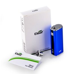 Wholesale Ego Mod Kits - Eleaf iStick 20W MOD simple Kits Eleaf iStick Mini 20 Watt 510 thread battery box mod VS Authentic Kangertech SUBOX Joyetech eVic-VT eGo-ONE