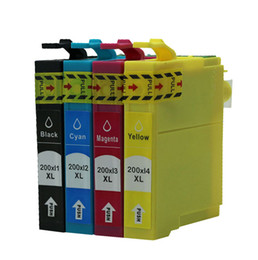 Wholesale Epson Xp - nice quality Compatible Ink Cartridge T2001, T2002, T2003, T2004 for Epson XP-200 300 400 WF-2530 2520 2540 Printer