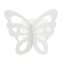 Wholesale Paper Napkin Rings Wedding - Wholesale- 50pcs Butterfly Paper Napkin Rings for Wedding Party decoration 7 Colors