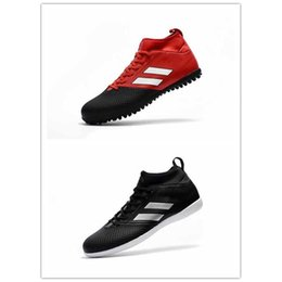 Wholesale Cheapest Kids Winter Shoes - The 2017 new hot sale kids and children Cheap Wholesale ACE 17.3 Purecontrol Primekn Soccer Shoes Boots Slip-On Cheap Performance Cleats