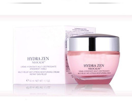 Wholesale Pink Facial - Have stock! 50ml skincare Cream hydratante multi-destressante multi-relief anti-stress moisturizing pink bottle day and night facial essence
