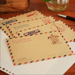 Wholesale Cute Stationery Envelopes - Wholesale- 60pcs lot New Fashion Cute Creative Mini Stationery Envelope Romantic Style  Gift Envelop Office & School Supplies GT264