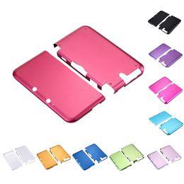 2019 coberturas 3ds Venda por atacado- Venda quente Muliti cor de alumínio caixa de Metal rígido caso capa protetora da pele Shell para 3DS XL / LL alta qualidade desconto coberturas 3ds