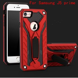 Wholesale Prime Series - For Samsung galaxy J5 prime ON5 2016 J7 prime ON7 2016 J5 2016 phantom series Dual Layer protection Hybrid Armor Case with Kickstand
