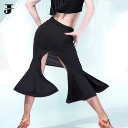 Wholesale Legging Hot Sex - 2016 New Summer Hot Latin Dance Half Skirts Dress Sex Women S-XXL Wide Legs Enfeites Para Quarto Clothing For Performance Dance DQ3122