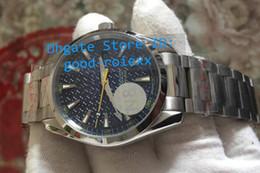 Wholesale Crystal Tops - Top Factory N8 Men Automatic 8507 Blue Dial James Bond Watch Mens Luminous Professional 007 Watches Men's Sports Dive Gauss Wristwatches
