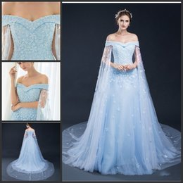 Wholesale Cheap Lace Gowns China - 2017 Wedding Dresses Bridal Gowns Satin Bateau Cheap A-Line 3D-Floral Appliques Mermai Wedding Dresses From China