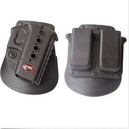 Wholesale Pouch For Gun - Evolution gun Holster RH Paddle GL-2 ND For Glock 17 19 22 23 27 31 32 34 35 6900RP Double Mag Pouch Glock
