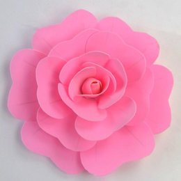 Wholesale Photo Simulation - Free Shipping Hand-made Bubble Paper Flower  Simulation Rose For Wedding&Party Decoration Photo Props 24 Color Option