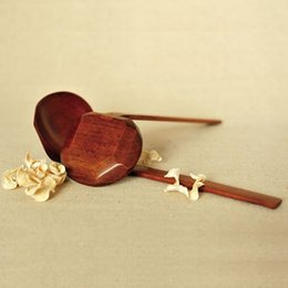 Wholesale Pot Handles - Wooden tableware Turtle soup spoon Japanese ramen wooden Long handle colander Hot pot spoon practical and durable