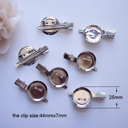 Wholesale Jewelry Safety Pin - (J0433) DIY brooch base, 30mm 100pcs lot, Brooch accessories With Clip and Safety Pin use for brooch and hair jewelry