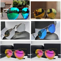 fdb91ebc8d0 Fashion Victoria Beckham VB Brand Sun Glasses Eyewear Sunglasses Women  Ultralight Pilot Color Coating Sun Glasses Oculos De Sol Feminino