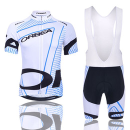 Wholesale Orbea Bike Jersey - 2017 ORBEA pro mens summer cycling jerseys short-sleeve QuickDry bike clothing race MTB ropa ciclismo maillot GEL pad bib shorts