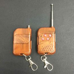 Wholesale Door Key Code - Wholesale- 433Mhz Universal Wireless Remote Control Copy code 433 Mhz Transmitter for Gate Garage Electric Cloning Door duplicator Key Fob
