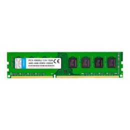 Wholesale 4gb ram ddr3 - Free Shipping 1Pcs Lot DDR3 1333 4G 1333MHz 4GB RAM 240Pin Desktop Computer Memory Dual Channel 8G For AMD PC Computer Motherboard RAMs