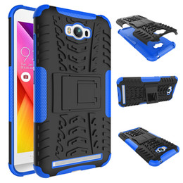 Wholesale Heavy Metal Iphone Cases - pc based logic analyzer For Asus Zenfone Max ZC550KL Case 5.5inch Heavy Rugged TPU+PC Armor Shockproof Kick Stand Cover for Asus Zenfone