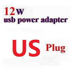 Wholesale Apple 12w Usb Power Adapter - 2.4A 12W AU  UK AC Wall Charger usb Power Adapter Plug For iPad pro 234  air 5 6  Mini for iPhone