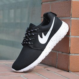 Wholesale Black Fashion London - Free Shipping Original 2017 london Run Running Shoes Women and Men black white running Shoes fashion Outdoor shoes Sneakers eur 36-45