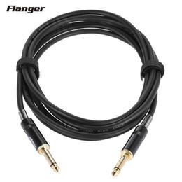 Flanger FLG-001 Pro Guitar Cable Super Silent Plug Cable Cable de conexión de la guitarra eléctrica Sin ruido No Electricity Buzz 3 Meters desde fabricantes